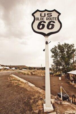 Cuadro La ruta 66