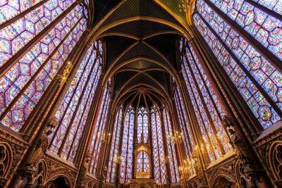 Cuadro La Sainte Chapelle en París