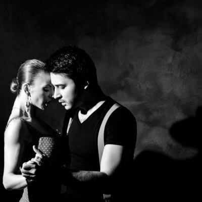 Cuadro La seducción Danza