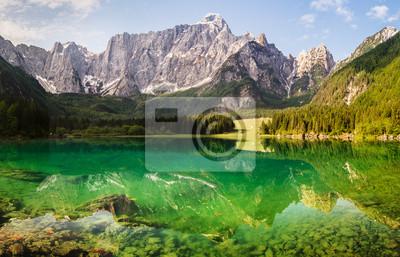 Laghi di Fusine espejo-alpina