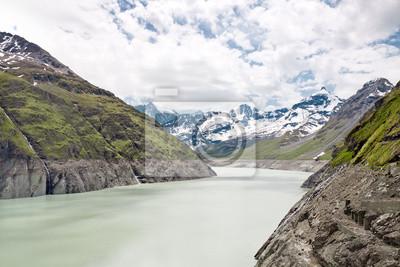 Lago Dix. Presa de Grand Dixence. Suiza