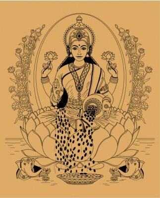 Cuadro Lakshmi