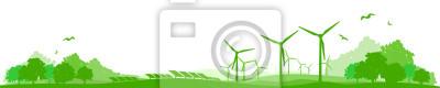 Landschaft Viento Solar Energie