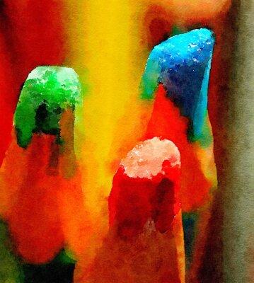 Cuadro Lápices de colores