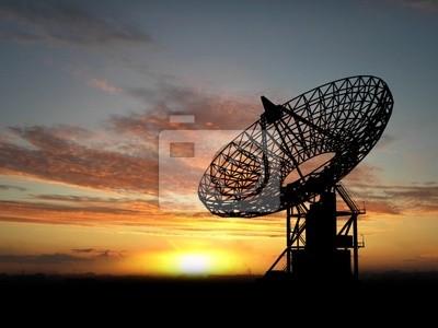 dd07e2cf29f85 Las antenas parabólicas pinturas para la pared • cuadros ...