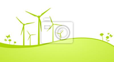Las turbinas de viento