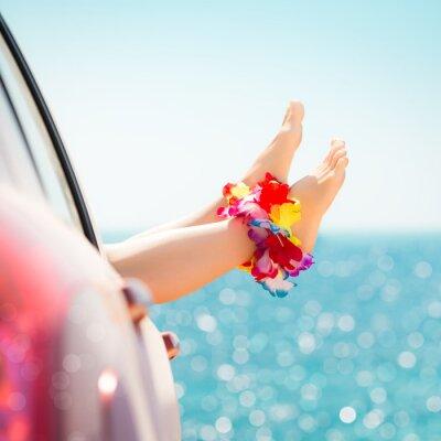Cuadro Las vacaciones de verano concepto