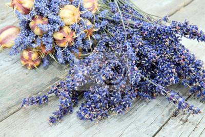 Cuadro Lavendelzweige