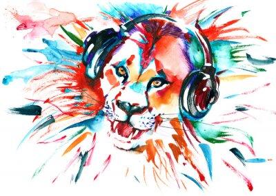 Cuadro león