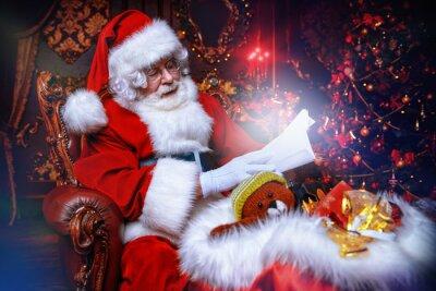 leyendo cartas para navidad
