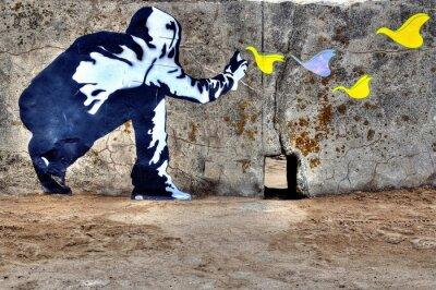 Cuadro Liberté Graffiti