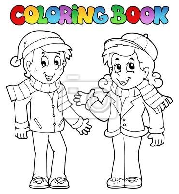 Libro para colorear los niños el tema 1 pinturas para la pared ...