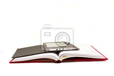 libro tradicional y el libro electrónico