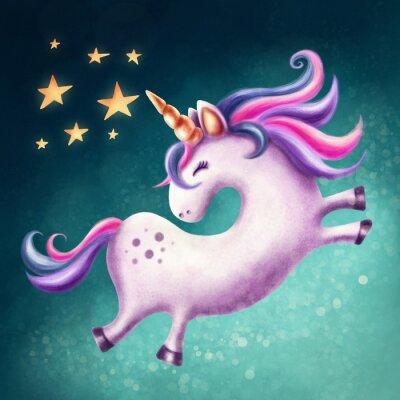 Cuadro Lindo unicornio