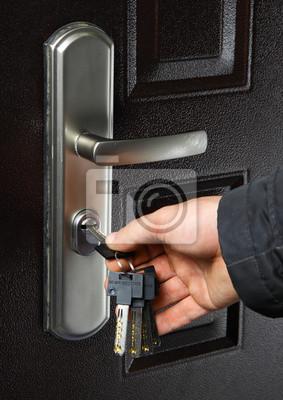 llaves y puerta