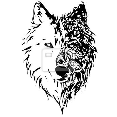 Cuadro lobos