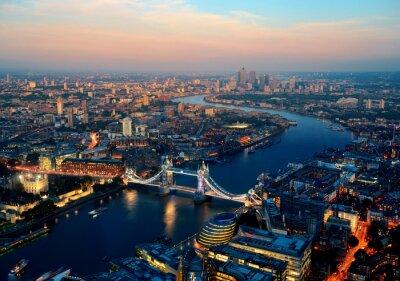 Cuadro Londres de noche