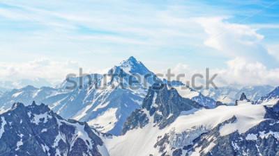 Cuadro Los Alpes desde el Pico Titlis.