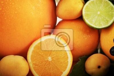 Los cítricos y otros productos alimenticios.