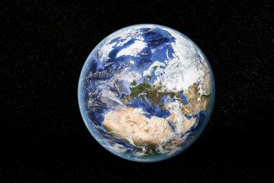 Cuadro Los elementos de esta imagen proporcionada por la NASA