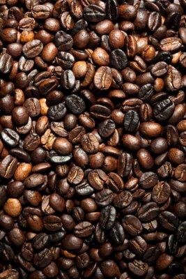 los granos de café textura