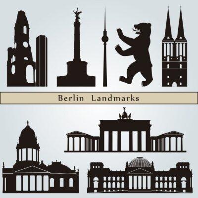 Cuadro Los monumentos de Berlín