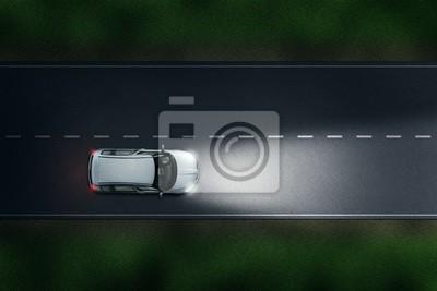 Luces de carretera automáticas