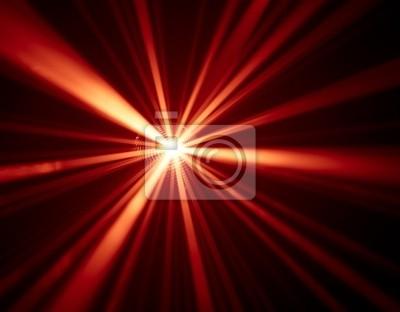 luces de discoteca de fondo rojo