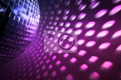 luces de discoteca telón de fondo
