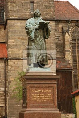 Luther-Denkmal en Erfurt
