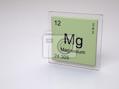 cuadro magnesio smbolo mg elemento qumico de la tabla peridica - Tabla Periodica Mg