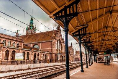 Cuadro Main station of Gdansk