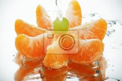 mandarina agua