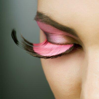 Cuadro Maquillaje hermoso de la manera de vacaciones