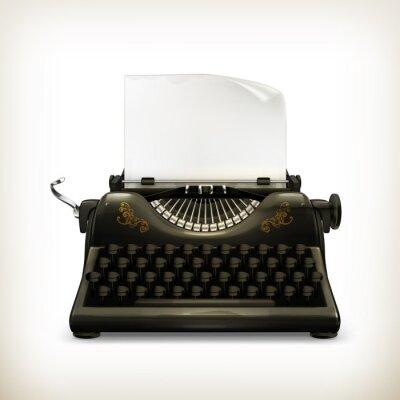 Cuadro Máquina de escribir