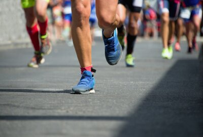 Cuadro Marathon runners