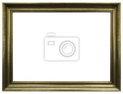 Marco de oro elegante y chic horizontal pinturas para la pared ...