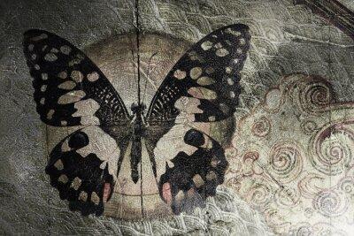 Cuadro mariposa