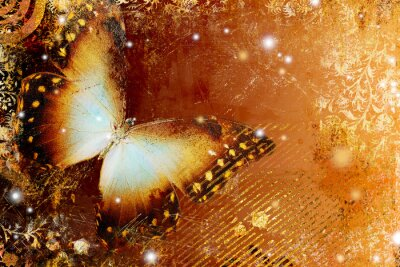 Mariposa de oro