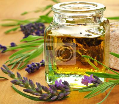 Cuadro Massageöl, Lavendel