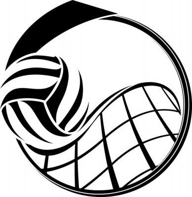 Cuadro Medalla Voleibol Diseño