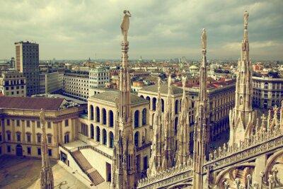 Cuadro Milán, Italia. Ver en el Palacio Real - Palazzo Realle