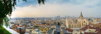 Cuadro Milano Centro panoramica