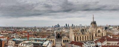 Cuadro Milano panoramica