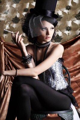 modelo de glamour