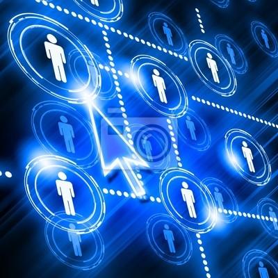 modelo de red social