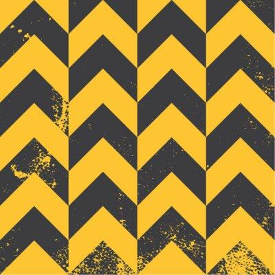 Cuadro modelo del galón de color amarillo con textura apenada