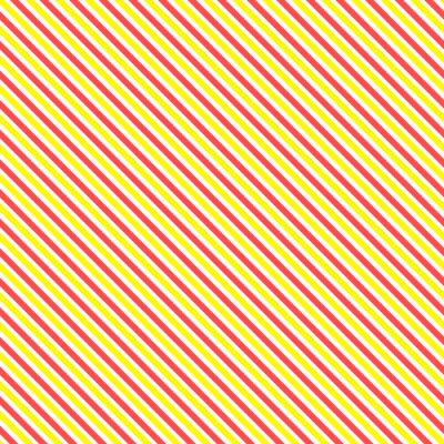 Cuadro Modelo diagonal de la raya inconsútil. Línea amarilla y roja clásica geométrica fondo.