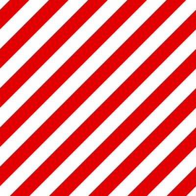 Cuadro Modelo diagonal inconsútil abstracto rayado con rojo y blanco st