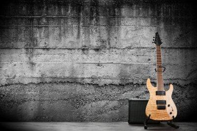Cuadro Modern electric guitar